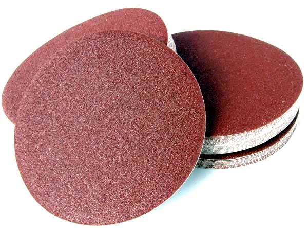 Samolepiace abrazívne disky 125mm 36-220 GR 50ks