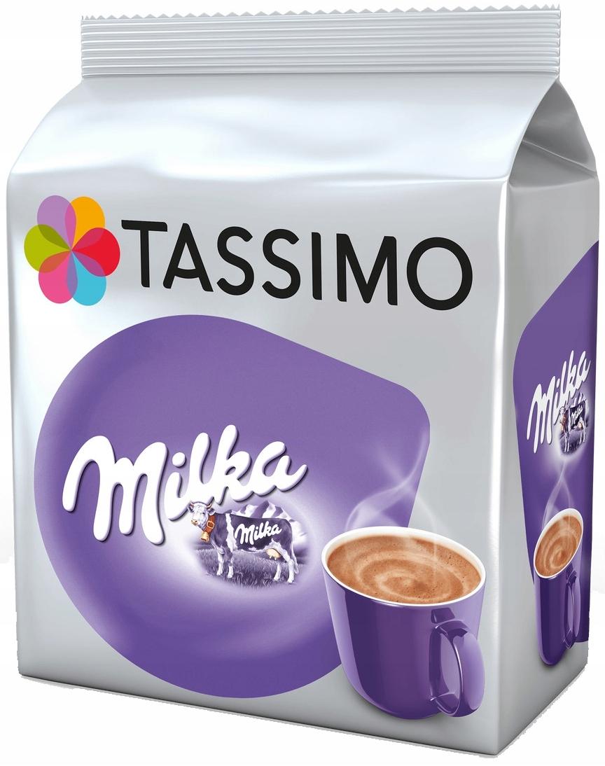 капсулы TASSIMO MILKA 8