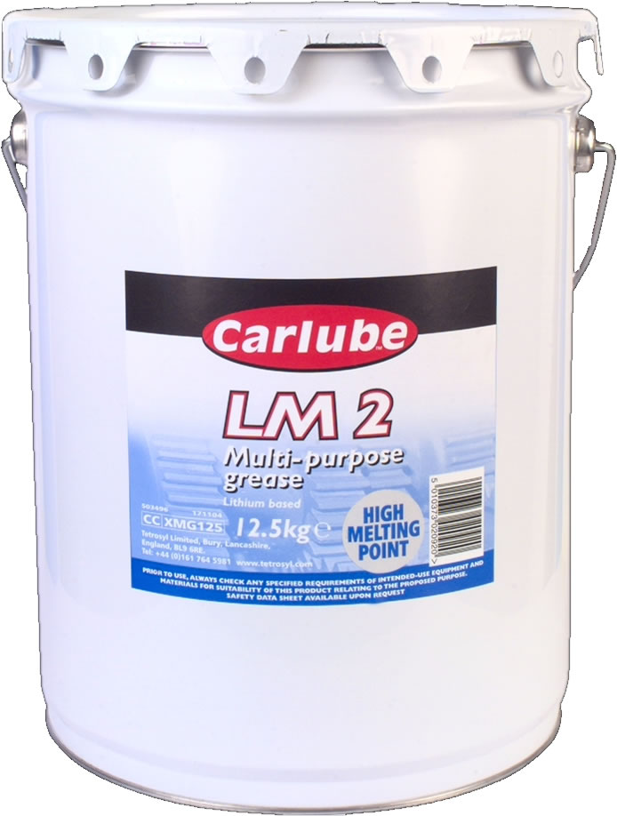 Picture of Carlube Multipurpose Lithium Grease LM2 12.5kg