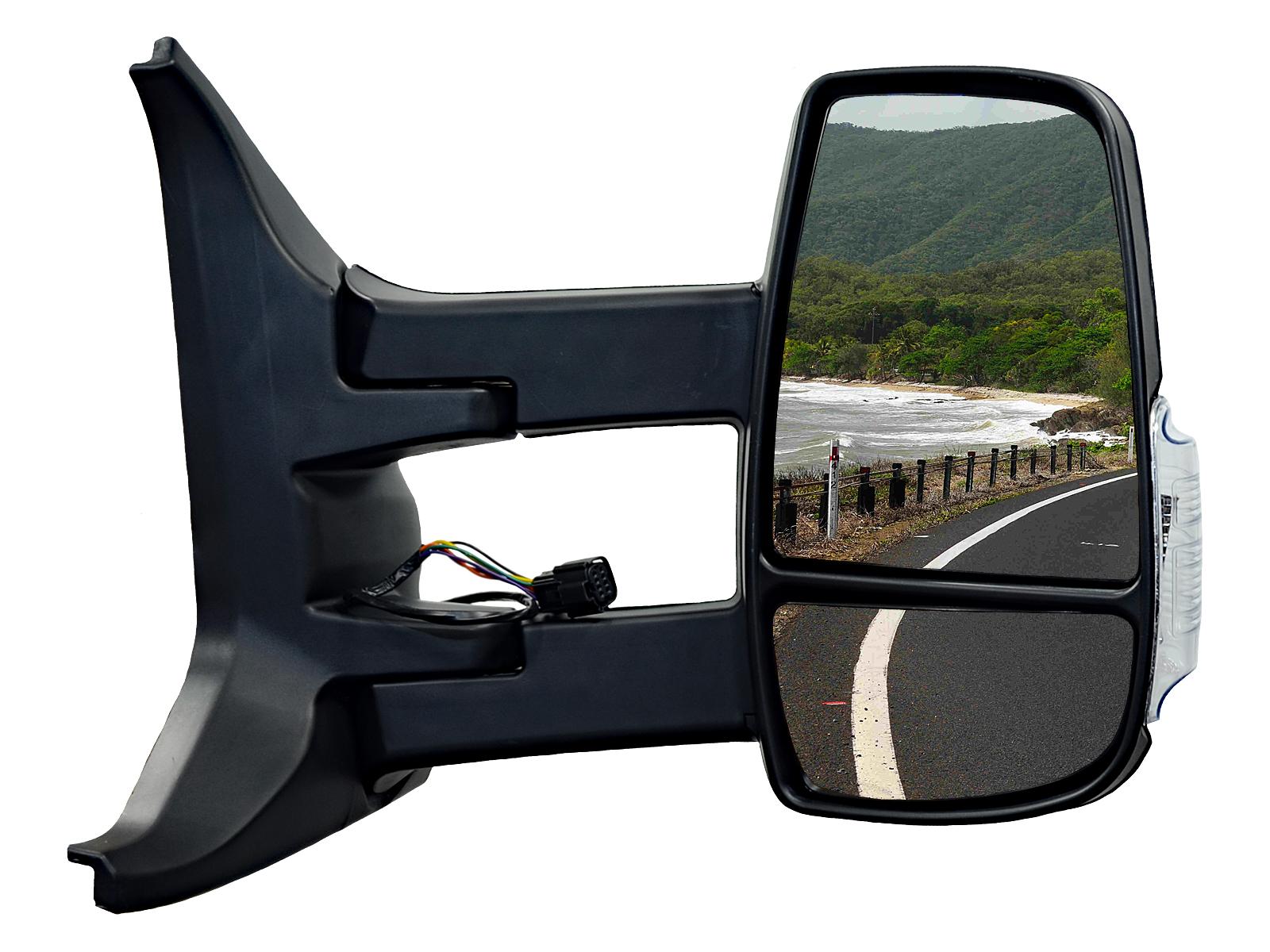 зеркало электрические длинные правое ford transit mk8