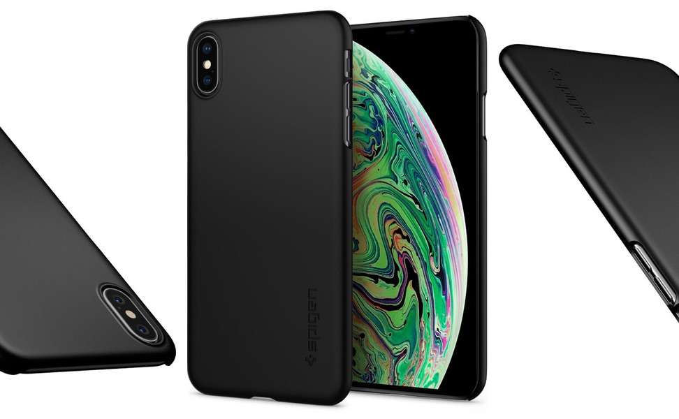 Etui Do Iphone Xs Max 6,5 Spigen Thin Fit Slim