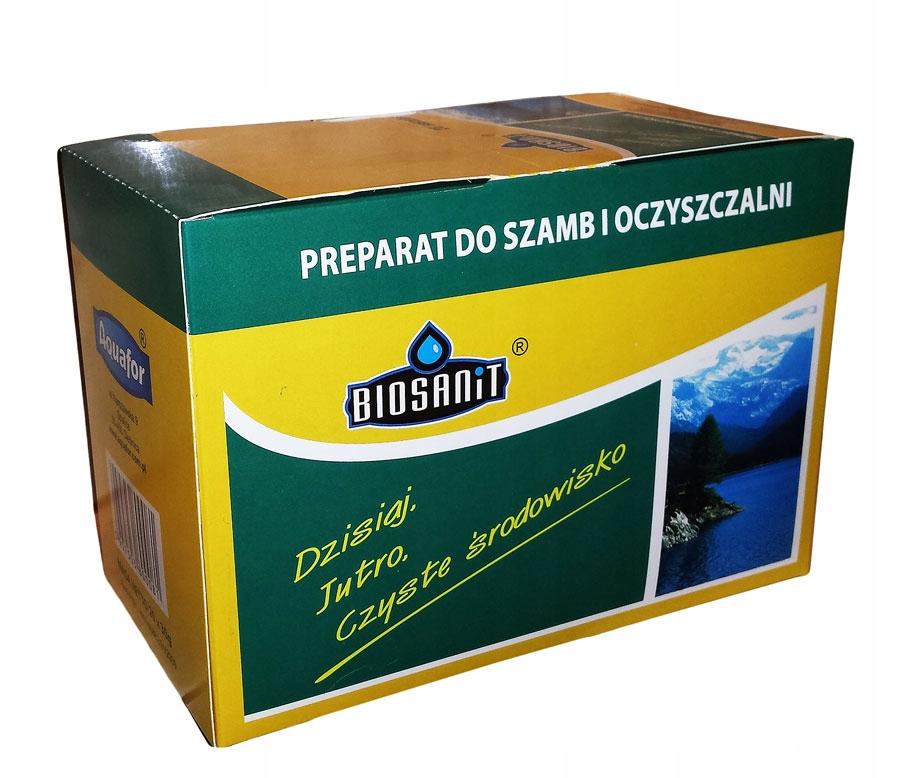 Biosanit,Бактерии для очистных сооружений,септиков-саше