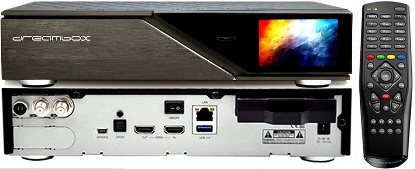 Купить DREAMBOX 920 4K TRIPLE MS 2XDVBS2X  DVBT2C на Eurozakup - цены и фото - доставка из Польши и стран Европы в Украину.