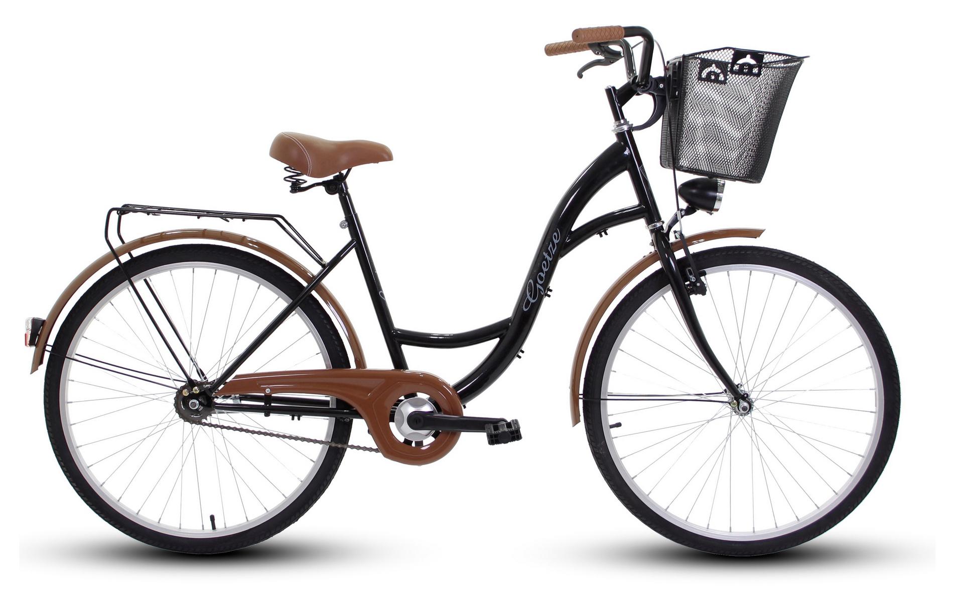 Dámsky mestský bicykel GOETZE 26 eco lady + košík !!!  Eko model