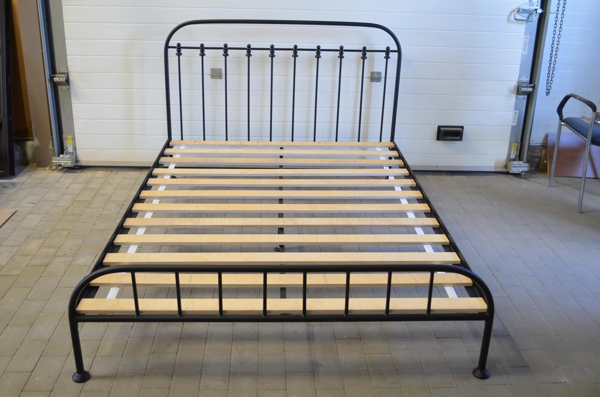 łóżko Metalowe Weroni 120x200 Ze Stelażem