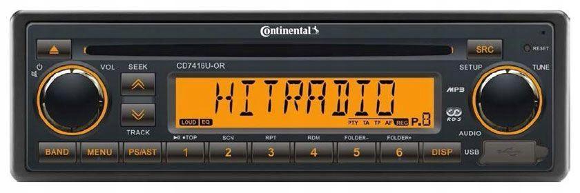 Autorádio Continental CD7416U-OR Retro