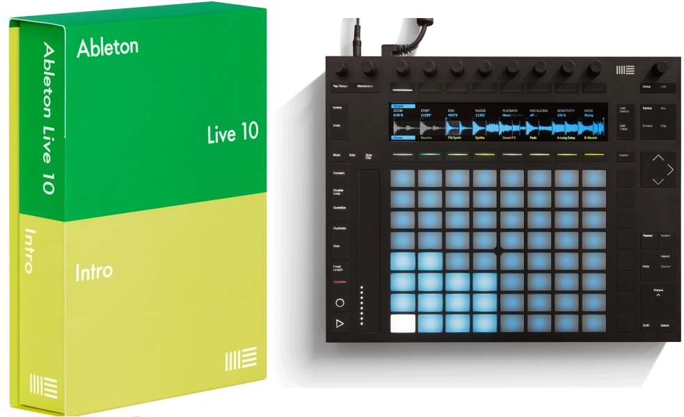 Item 2 Ableton Push + Ableton Live Intro 10