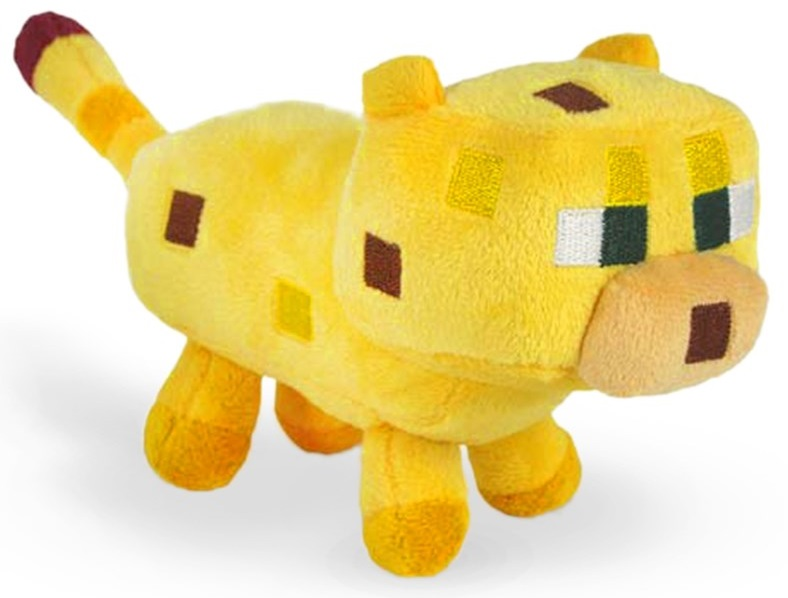 MINECRAFT KITTEN PLUSH TOY MASCOT OCELOT CAT STEVE
