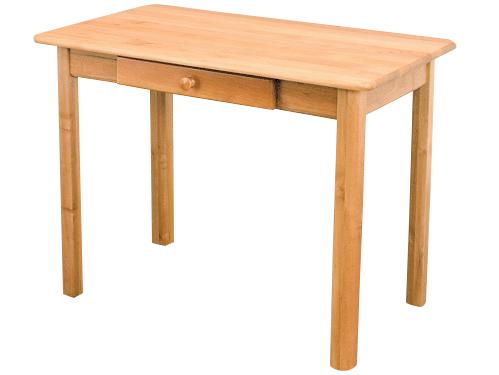 MASÍVNEHO borovicového drevený Stôl 100 x 60 so zarážkou