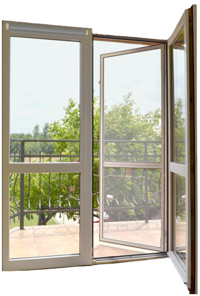 Mosquito Net pre hliníkové dvere Výrobca 6 farieb