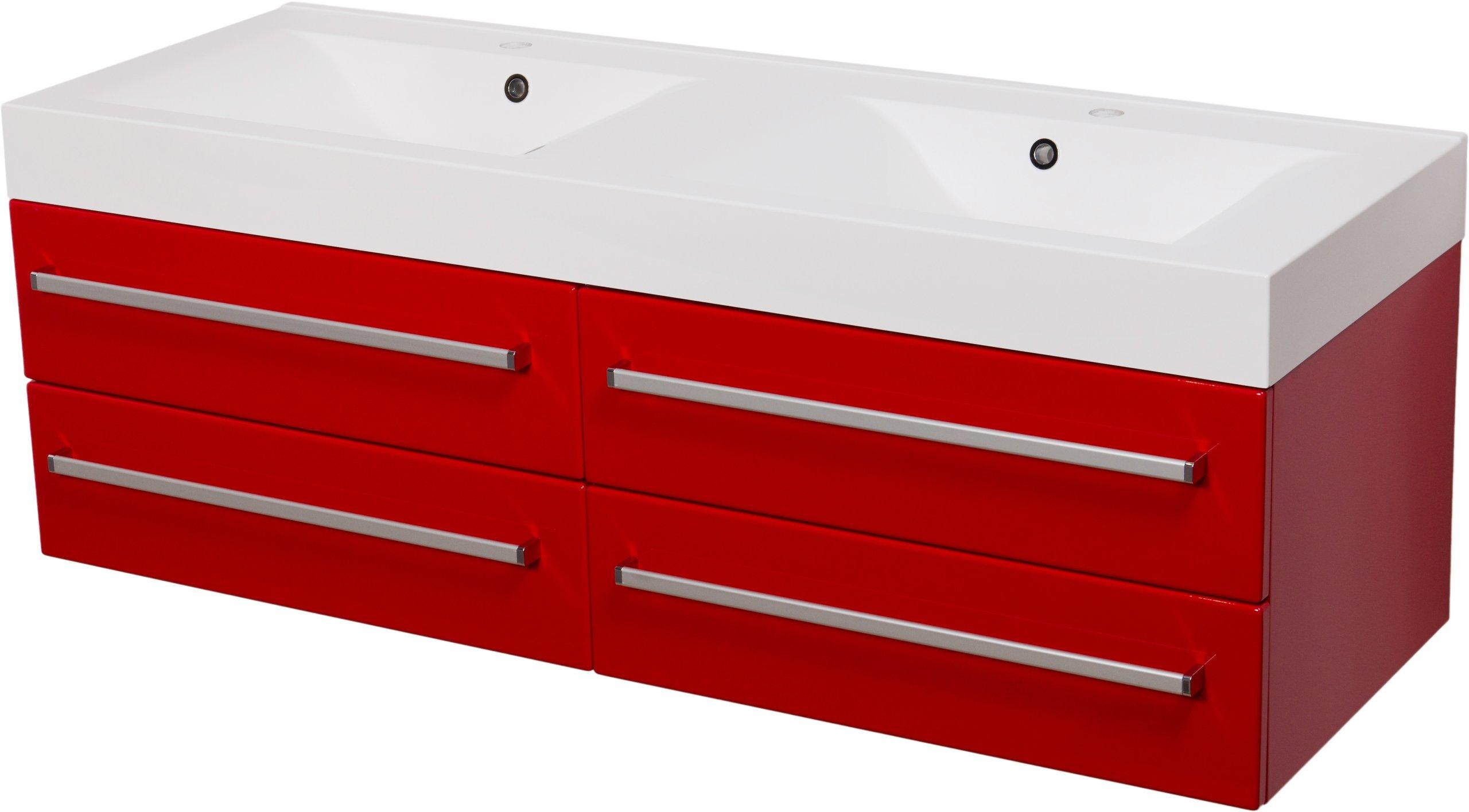FOKUS meble łazienkow czerwona szafka + umywal 140 - 2729 zł - Allegro.pl - Raty 0%, Darmowa dostawa ze Smart! - Miechów (k. Krakowa) - Stan: nowy - ID oferty: 7413580762