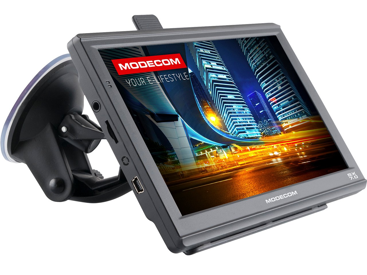 GPS-НАВИГАЦИЯ 7 ДЮЙМОВ MODECOM SX 7.0 - РАЗБЛОКИРОВАНО!