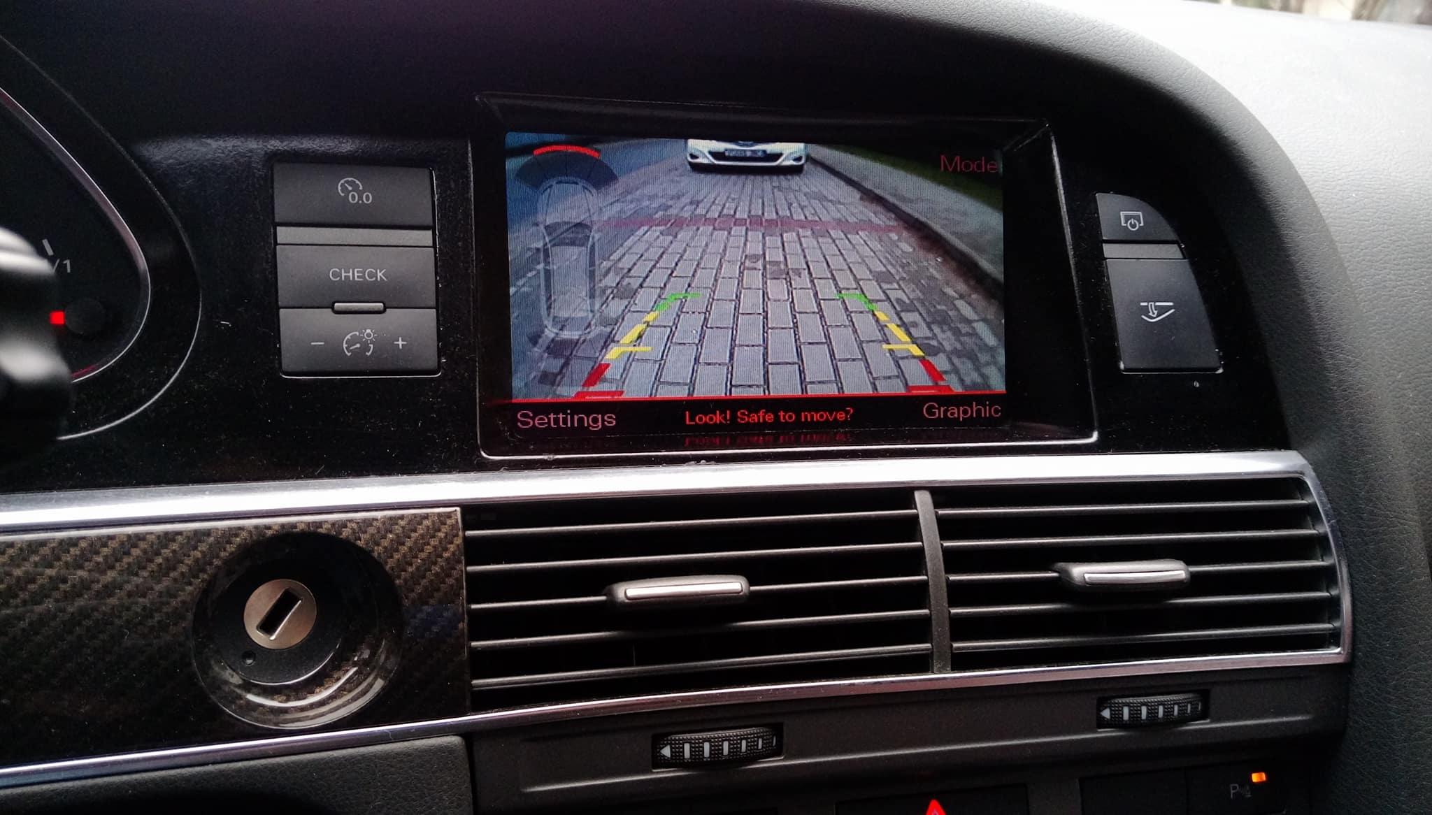 Audi A6 C7 A7 A8 D4 Montaż Kamera Cofania Pdc Mmi 7112856562