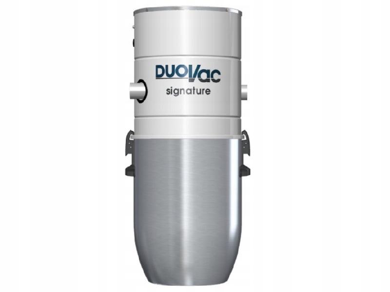 Stredný vysávač DUOVAC podpis 25 rokov.