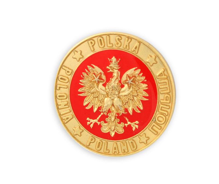 Купить Застежка, pin-орел в круге wpinka эмблема на Otpravka - цены и фото - доставка из Польши и стран Европы в Украину.