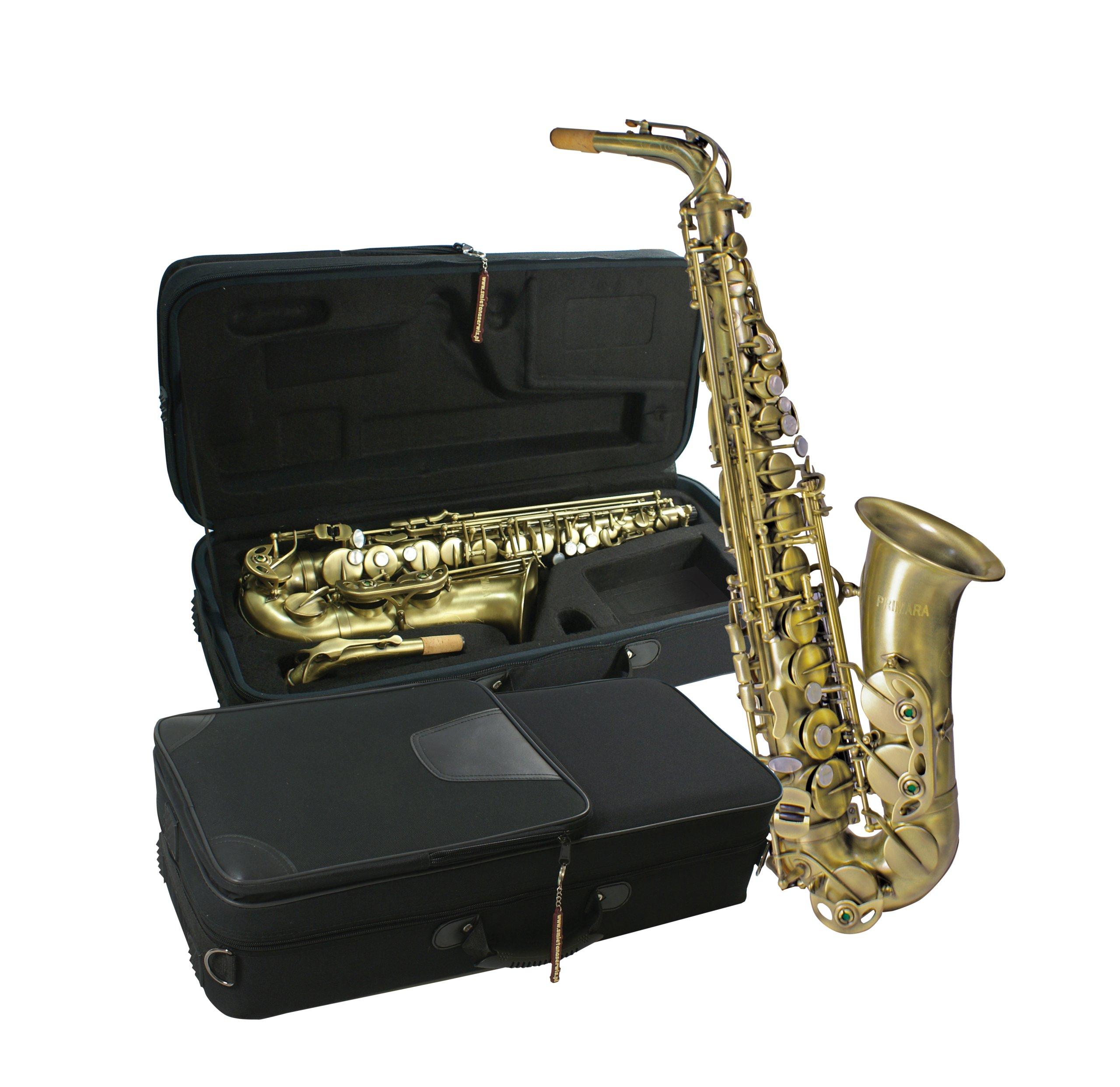 Alto saxofón Vintage Primara plus príslušenstvo