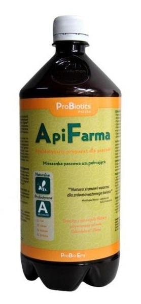 ApiFarma probiotyk dla pszczół WZMACNIA 1L