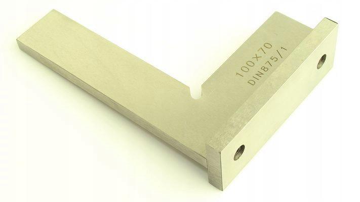 Kątownik stalowy ze stopką przykręcaną 100x70mm