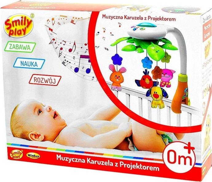 Kolotoč na lůžku Kolotoč + PROJEKTOR + POLOHA Materiál Plastová tkanina