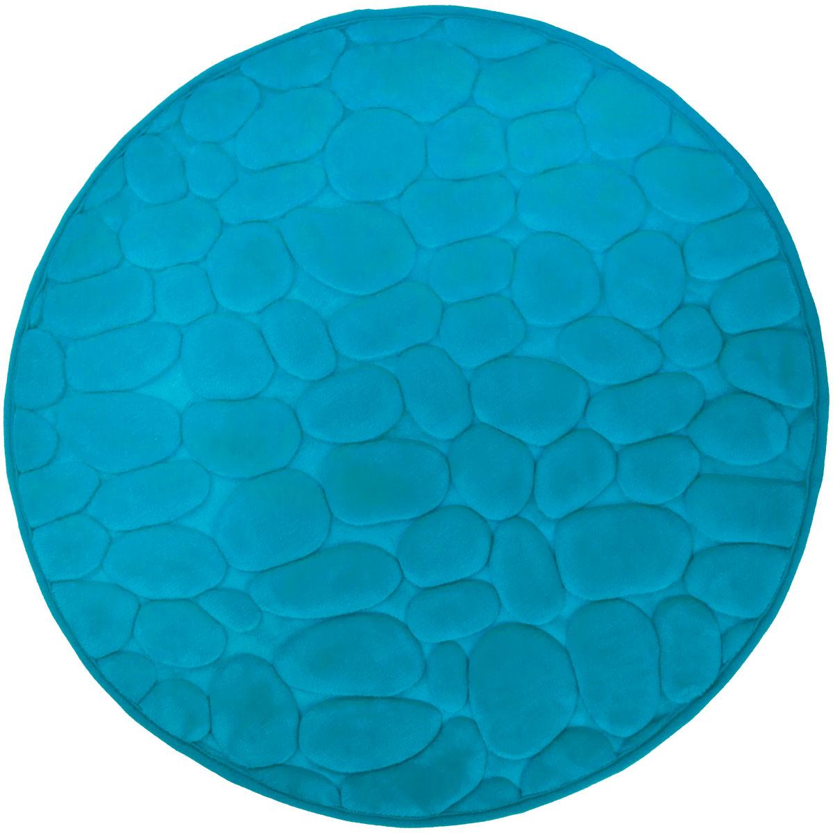 Super mäkká kúpeľňa koberec 60cm 3D tyrkysové