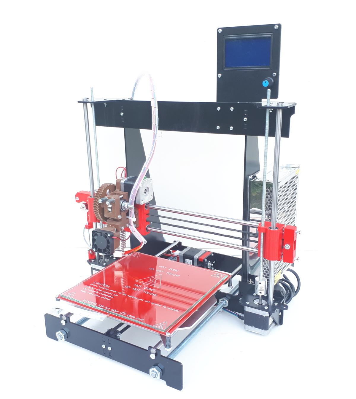 Prusa I3 3D принтер, Reprap, СТАЛЬНОЙ