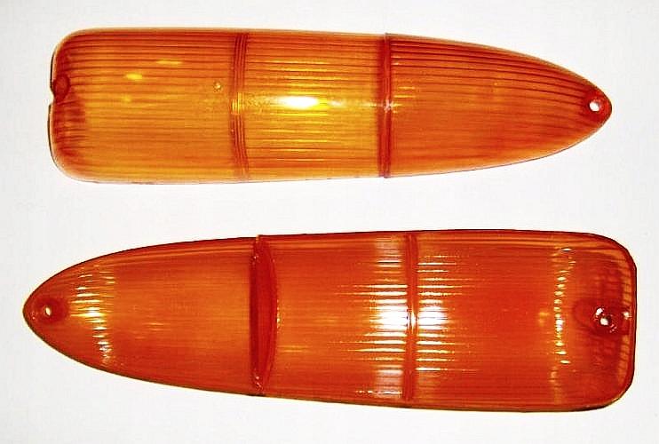 Trabant 601 Klosz (e) tylnej lampy pomarańczowy