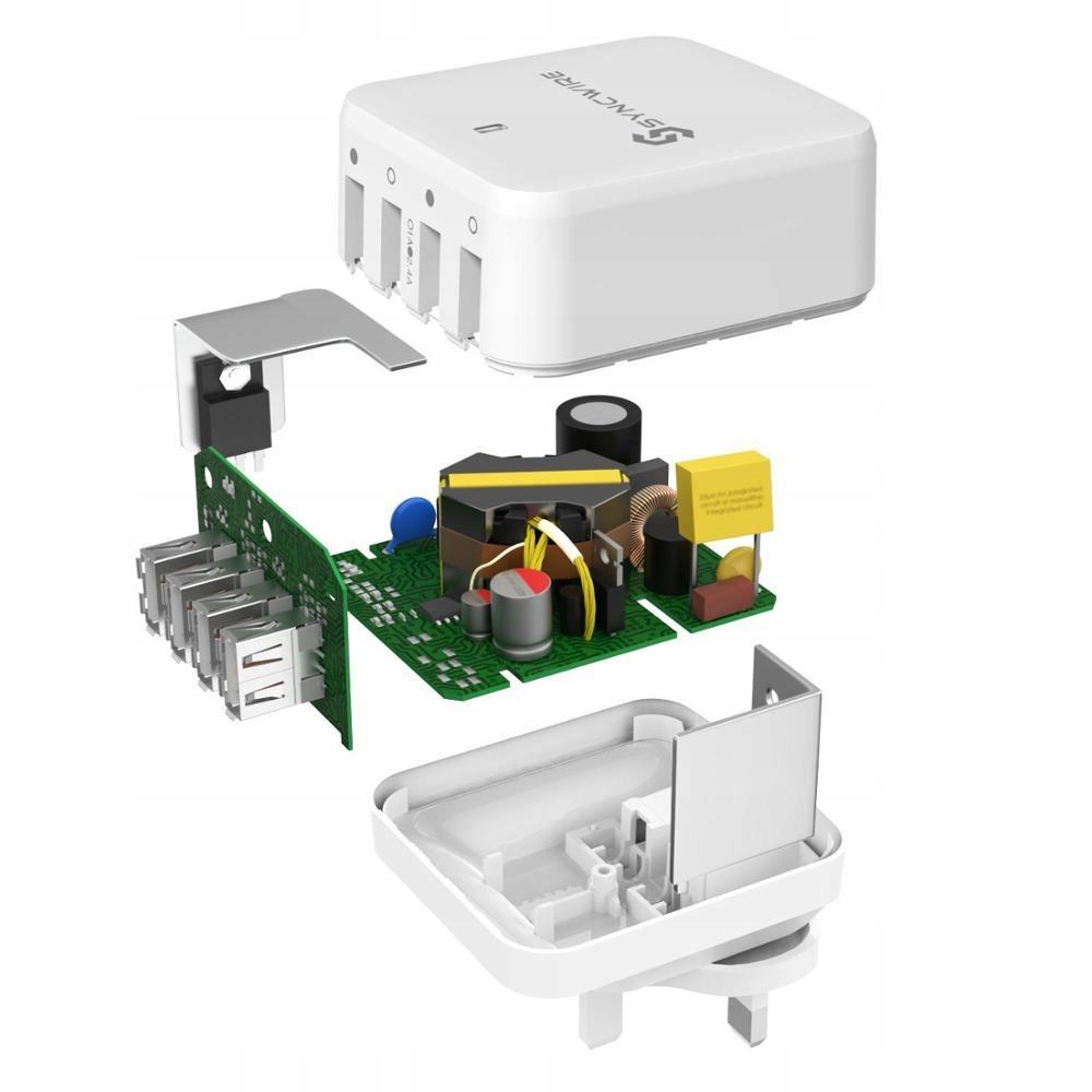 Amazon Ładowarka USB Syncwire ładowarka zasilacz USB – 6 A