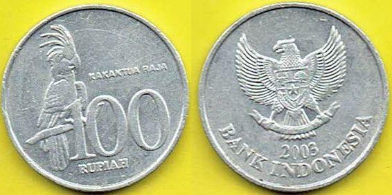 INDONEZJA 100 Rupiah 2003 r.