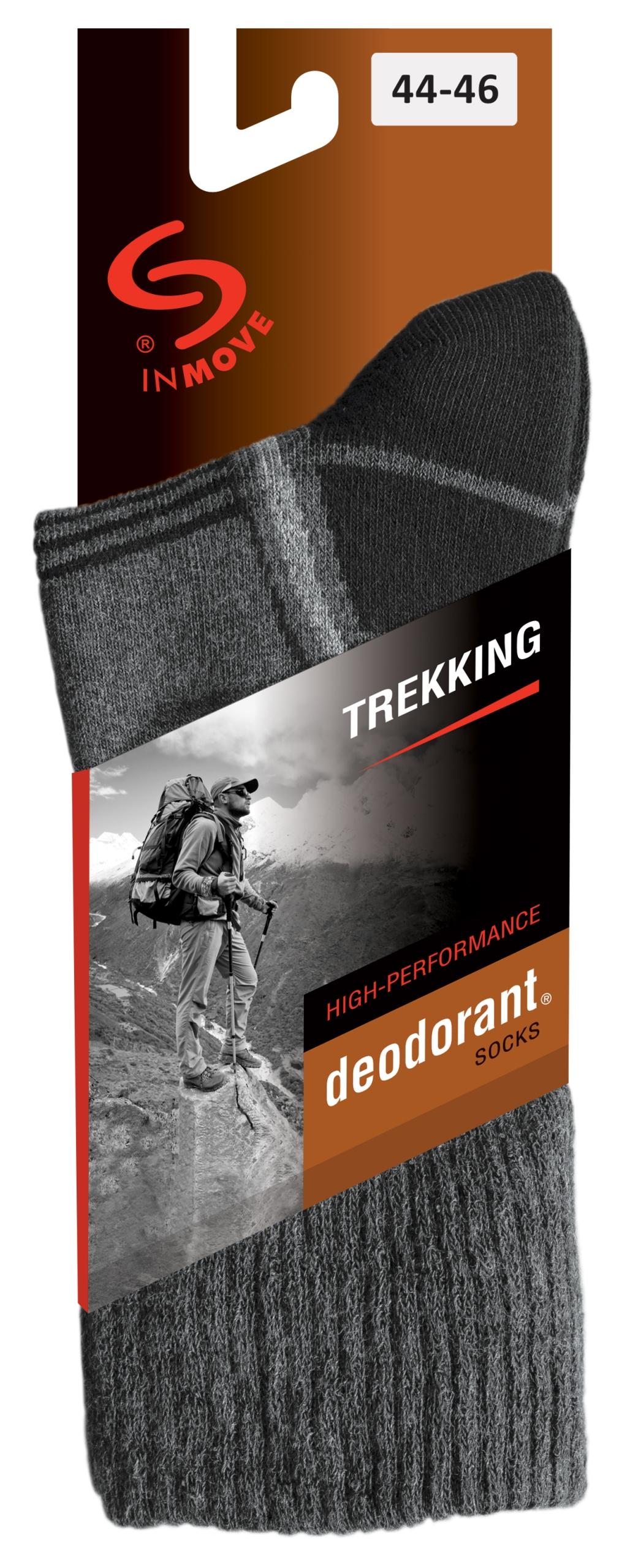 JJW teplé treking ponožky deodorant č. 41-43