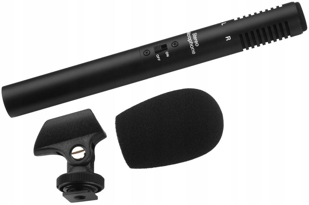 Kapacitný mikrofón Stereo Monacor ECM-600st