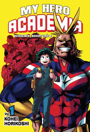 Item MY HERO ACADEMIA VOLUME 1 EN NEW MANGA