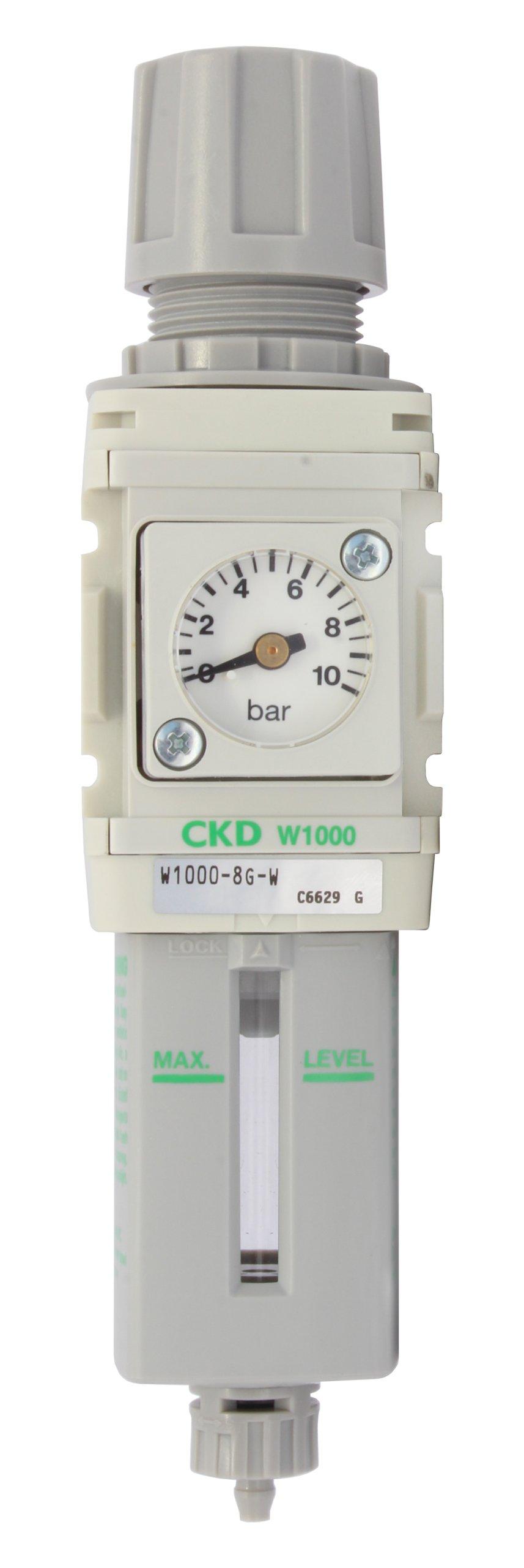 Vzduchový filter so reduktorom W1000 8G 1/4 ' CKD