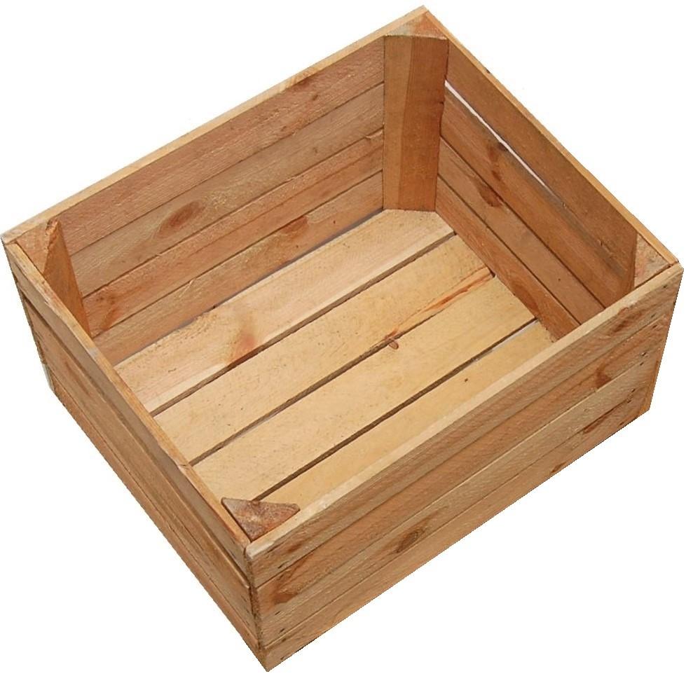 коробка клетка деревянная фрукты ЯБЛОКИ