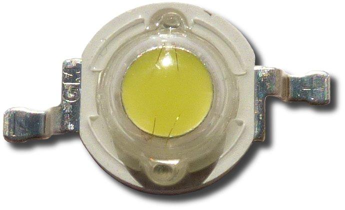 DIODA LED 1W ZIMNA 8500-10000 Bridgelux Dual 150LM