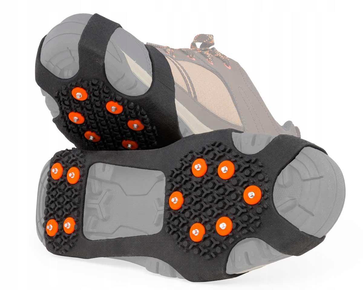 Кошки нескользящие для обуви с шипами М: 36-40