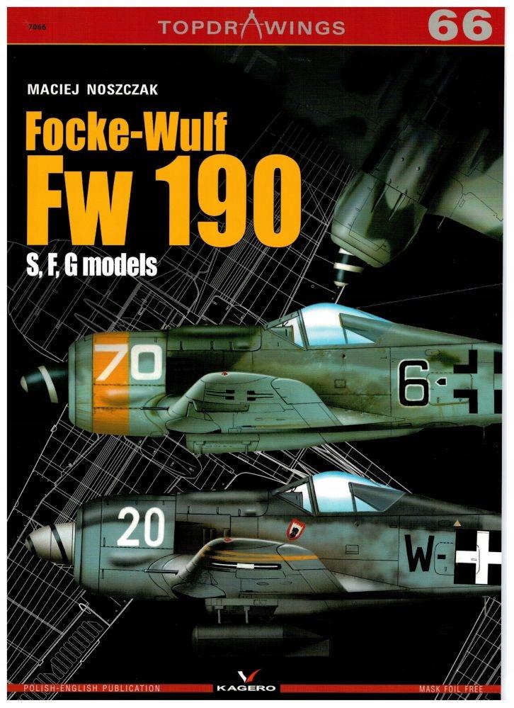 Focke-Wulf Fw-190, S, F, G models -Кагеро Topdrawings доставка товаров из Польши и Allegro на русском
