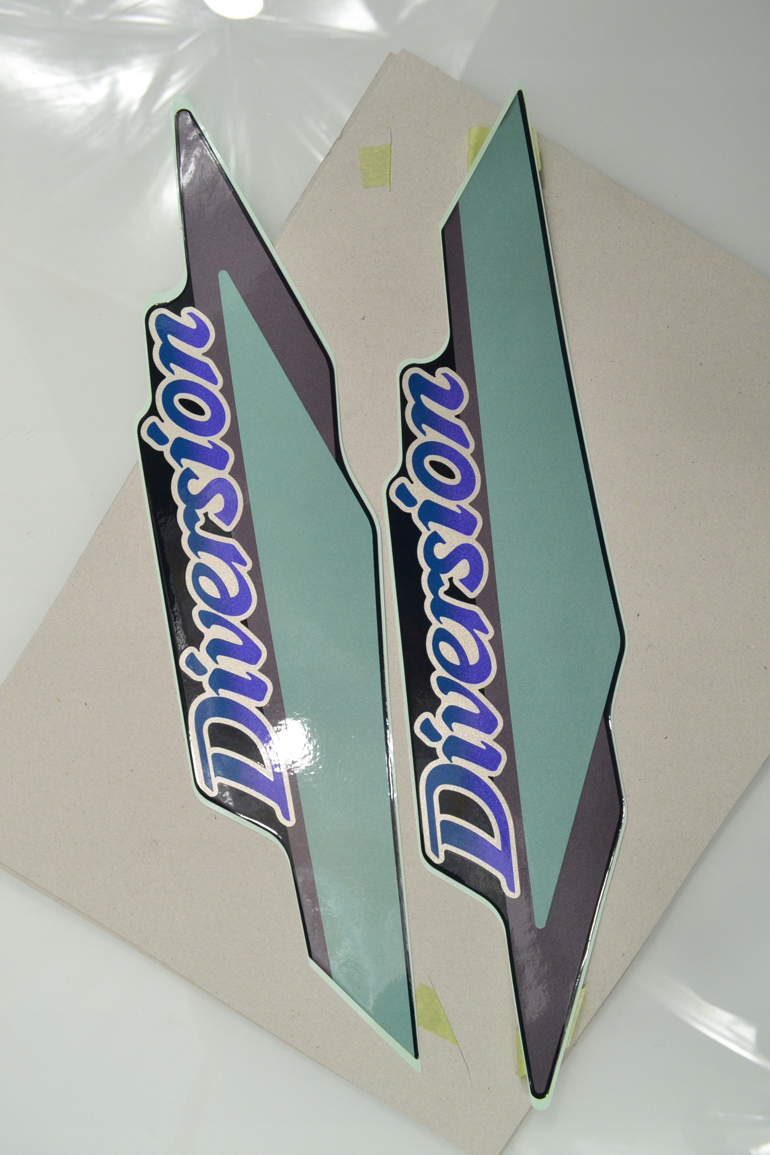 Яма XJ 600 S Diversion 1995 NAKLEJKA OKLEINA OEM