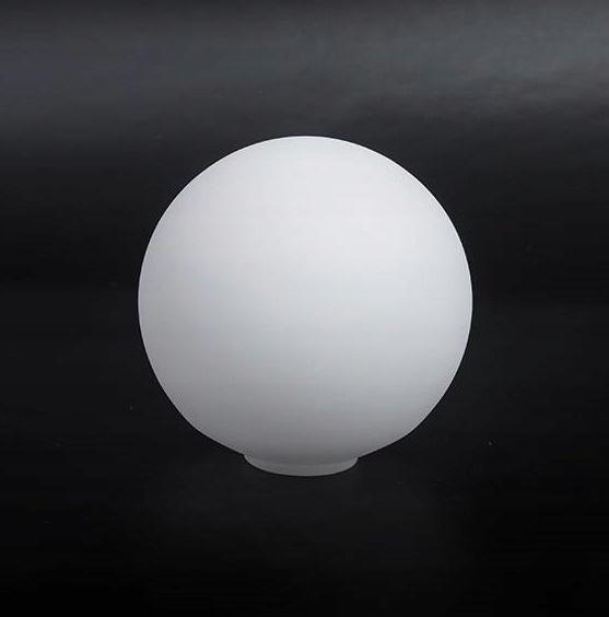 Абажур 4009 матовая белая шаровая люстра d. 150/40 мм