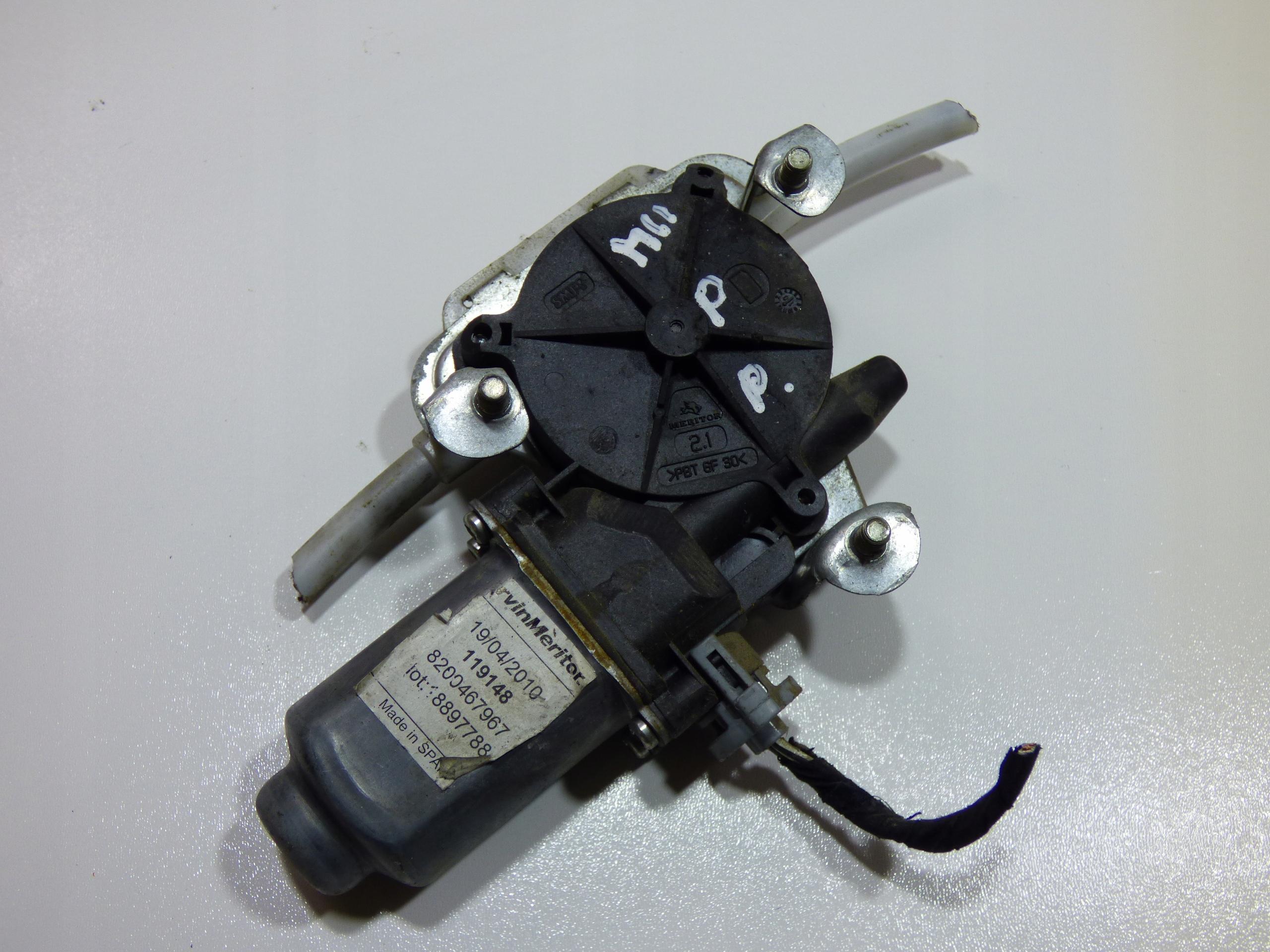 двигатель стекла правый вперед master movano 1998-09
