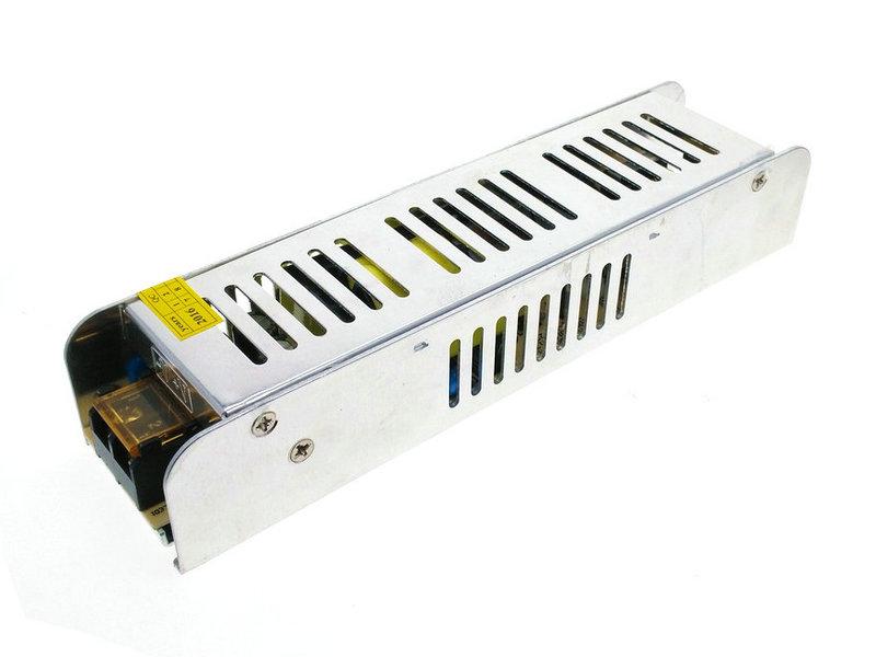 БЛОК МОНТАЖНЫЙ 12V 100W SLIM для LED лента CCTV