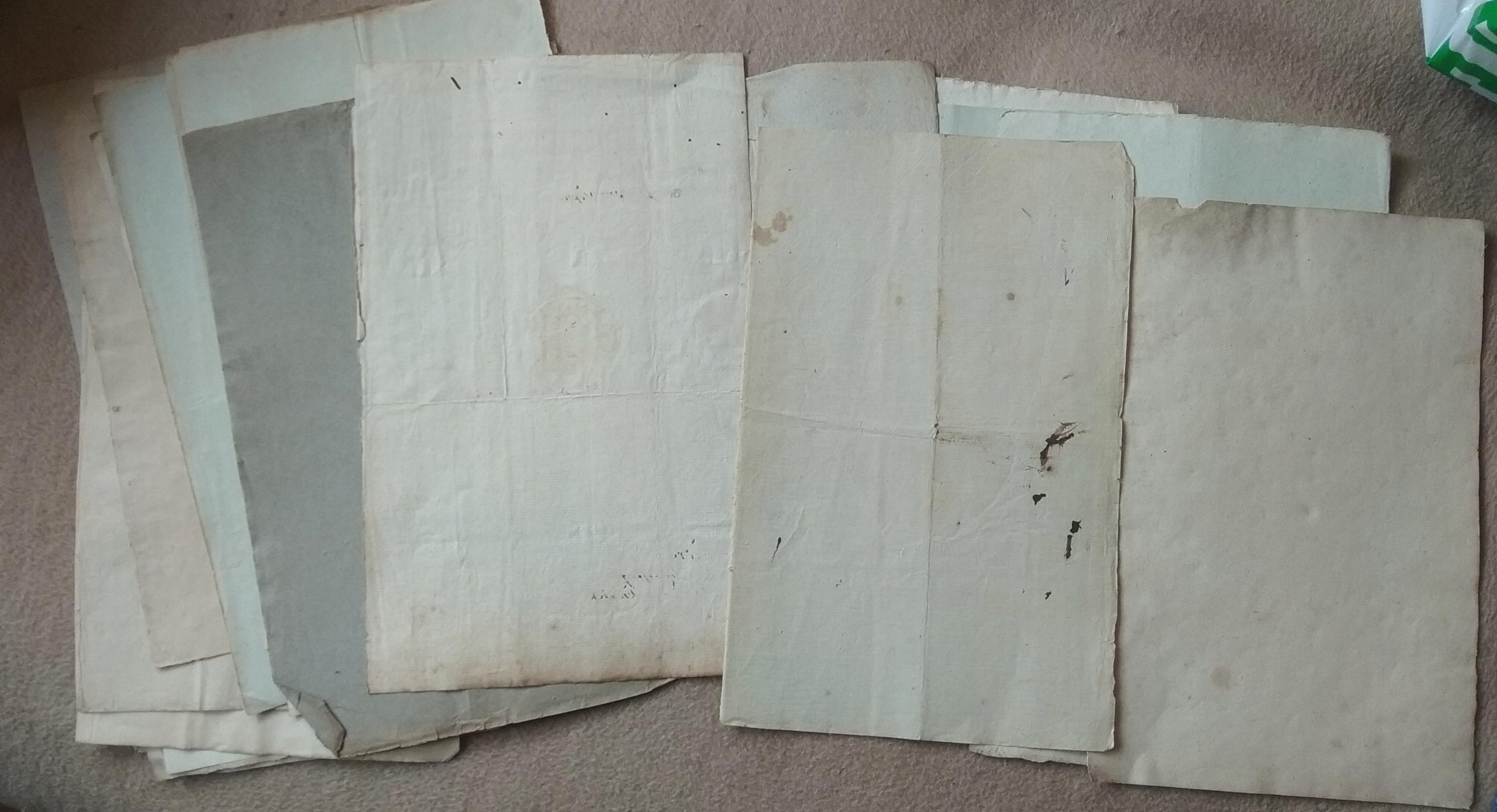 Papier czerpany XVIII-XIX wiek Zabezpiecz zbiory