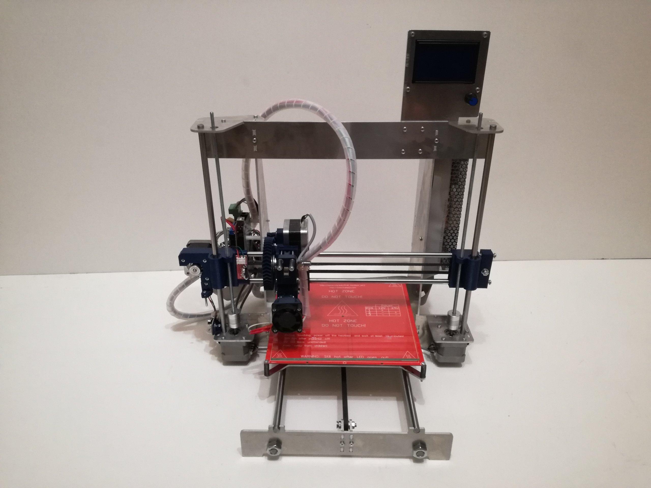 3D tlačiareň, Prusa I3, komplexné reproAP + vlákno