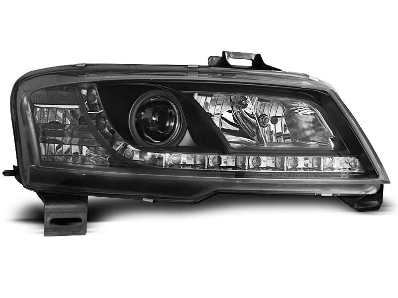 Lampy Przod Fiat Stilo Black Led Diodowe Czarne Pajeczno Allegro Pl