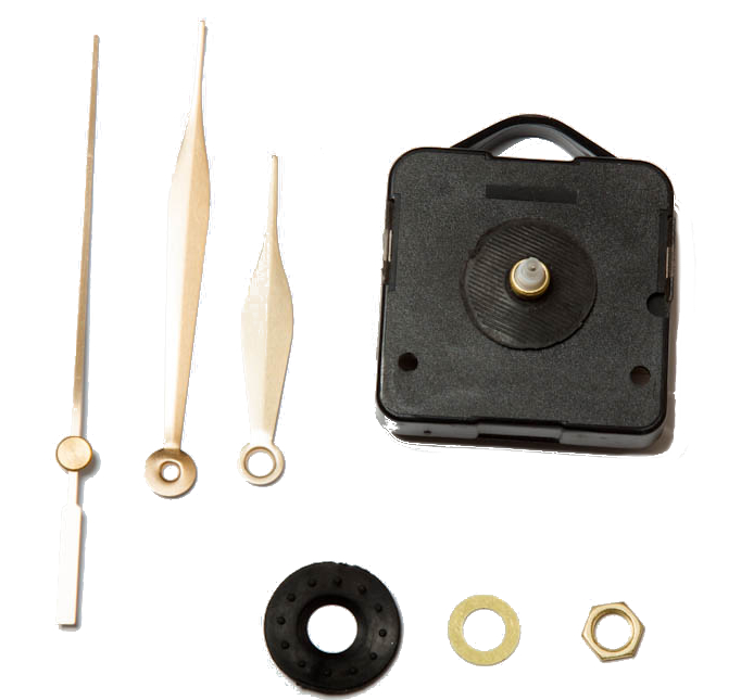 Item The mechanism for the clock
