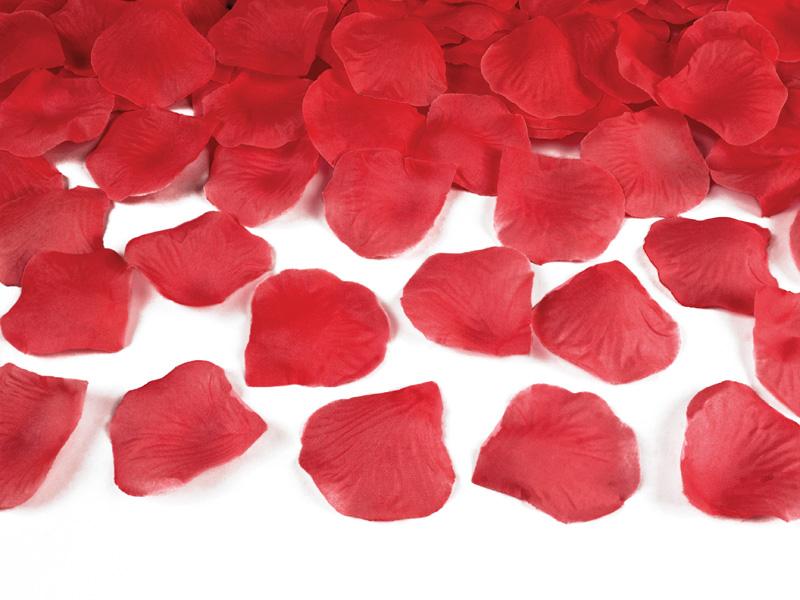 PIĘKNE PŁATKI RÓŻ 500szt 10 kolorów Dekoracja Ślub