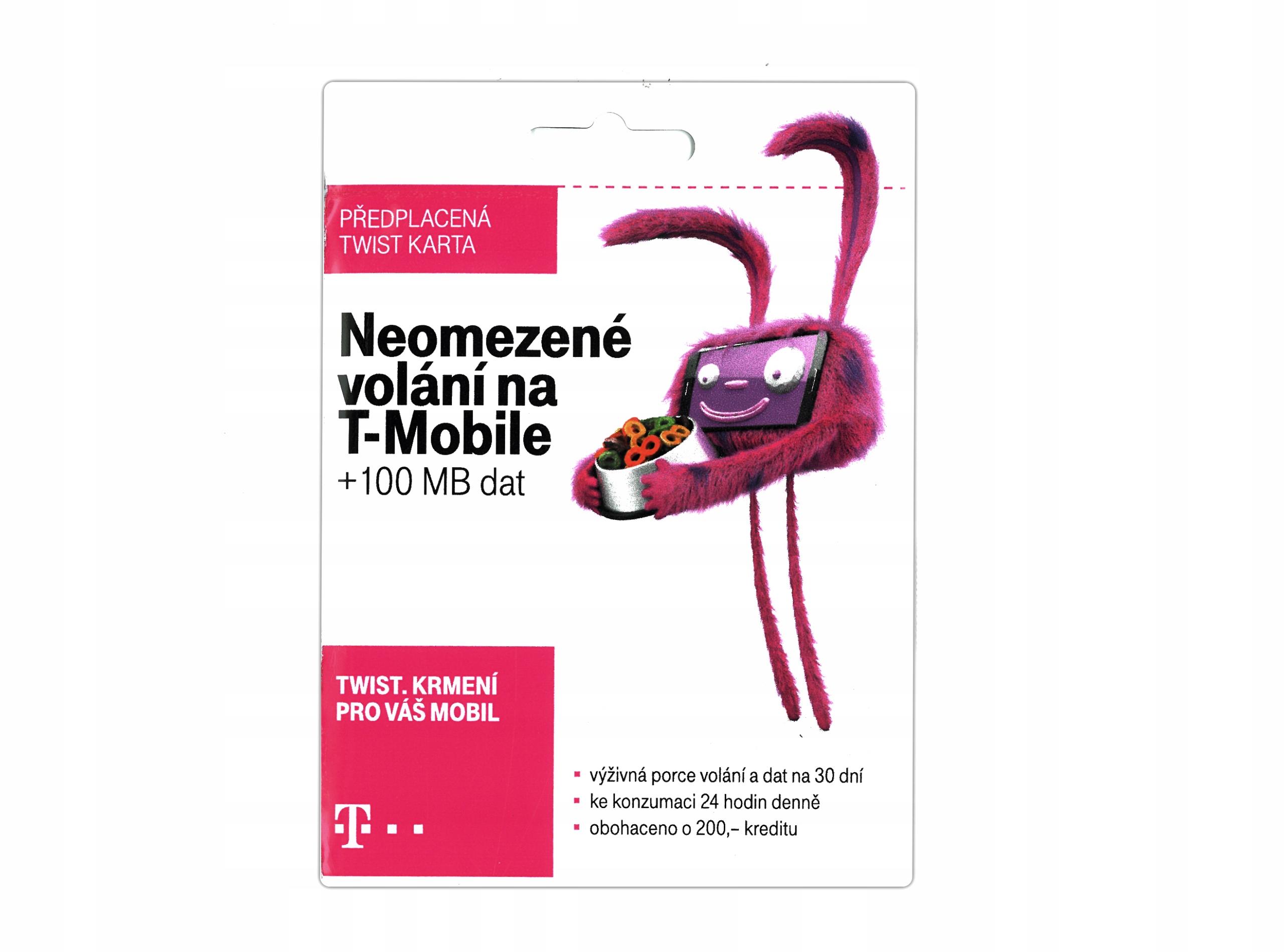 Item CZECH STARTER SIM CARD FROM T-MOBILE