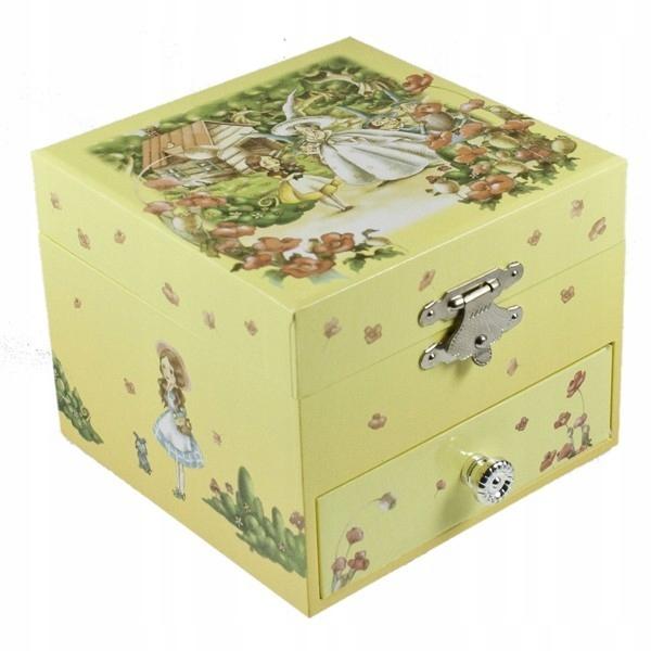 Klenotníctvo šperky box s oz. Puzzle