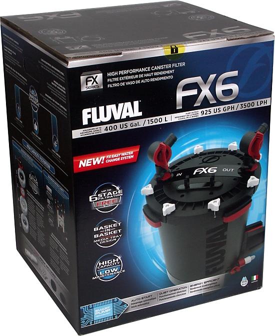 HAGEN FLUVAL FX-6 FX6 Фильтр Kubełkowy 3500 Л/Ч