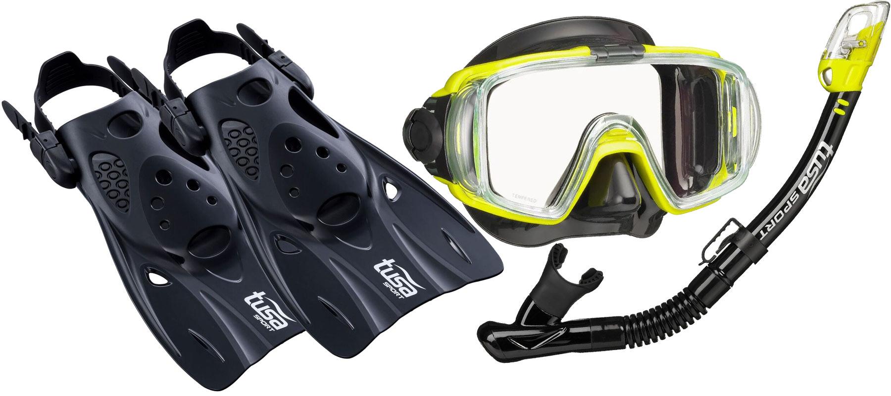 TUSA VISIO NASTAVIŤ maska, plutvy, šnorchel QBFY S 28-35