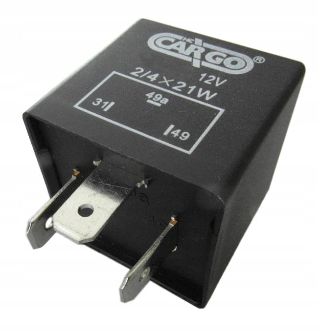 прерыватель указателей поворота 12v на 3 контакты мощность 84w